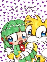Tails X Cosmo: Take Me Away by Violent-Rainbow