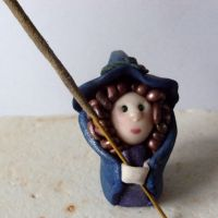 Little Witch Incense Holder 2 by wytchwolf