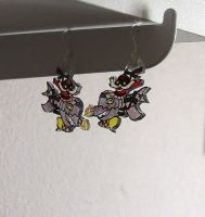Corki Crystal Earrings by AerithHojo