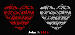 John 3:14-18 by Nilopher