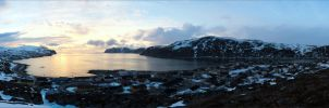 Evening in Kjollefjord by NikolaiMalykh