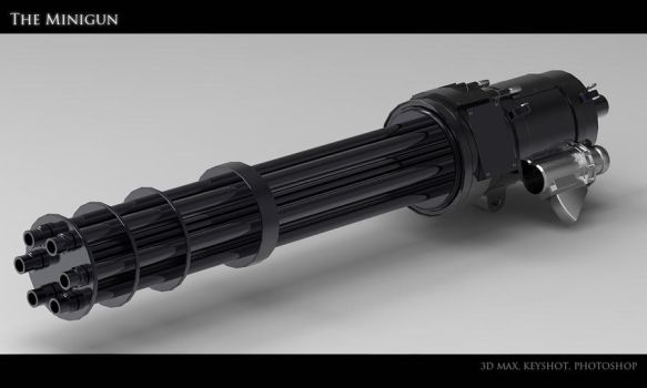 Minigun by Akiratang