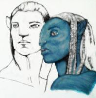 Avatar Watercolour by charli-art