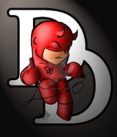 Dare Devil HEDBON Chibi by sorah-suhng