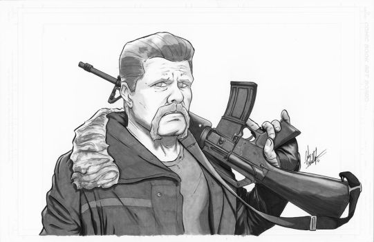 Walking Dead Abraham by judegallagher28
