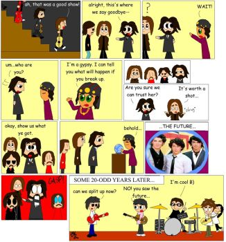 Beatles Comic: The Future by BlackRayquaza1