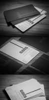 Gois Corporate Business Card by calwincalwin