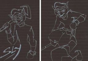 SLY COOPER LINES by WhiteFox89