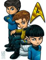 Lil Trekkies by lordmesa