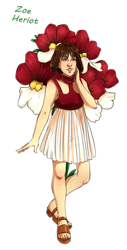 Dr Who Flowers - Zoe by Miss-Alex-Aphey by Yet-One-More-Idiot