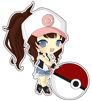 PKMN Trainer White by pixelpoe