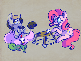 Tea Time With Confetti by C0tt0nTales