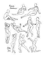 Female Gestures by Foxbride