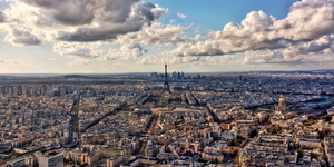 Paris Skyline (HDR) by ReneWarich