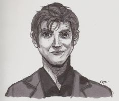 the tenth doctor by thebolderthingtodo