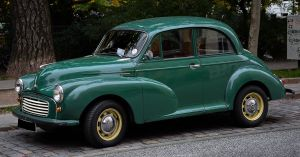 Morris Minor by cmdpirxII