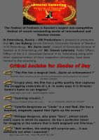 Shades of Day Press Release (page 2) by SobohRami