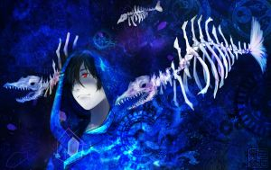 blue pollution by natsume-kyoya