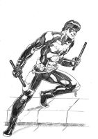 Nightwing:Young Justice by JeanSinclairArts