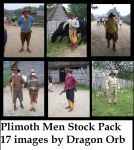 plimoth men stock pack by dragon-orb
