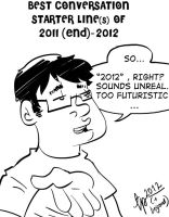 Conversation Line of 2012 by tarunbanned