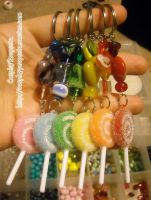 Taste the Rainbow Lollipops by CosplayPropsEtc