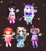 Glitter girls! (3/5 OPEN) - 10p giveaway by ms-villeroy