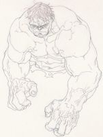 Hulk sketch by timothygreenII