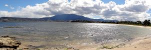 Bellerive Beach Panoramic by arluckman