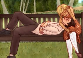 Day at the Park by lonely-hime