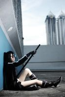 Black Rock Shooter by KiraHokuten