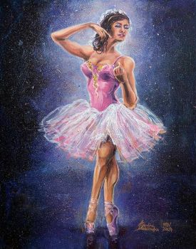 Repainted Ballerina in Spotlight by moltres