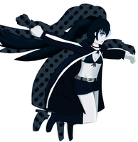 Black Rock Shooter by GlowStick-Parade