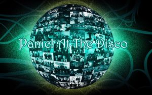 Panic At The Disco Ball Revamp by missmandyx2