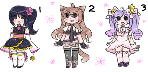 Derp adoptable set by carcarchu