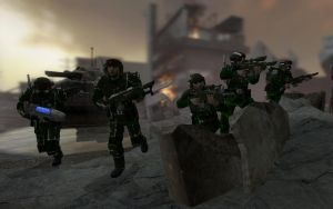 75th Cadian Drop Commandos by Kommandant4298