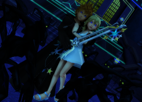 MMD KH - Protection - RoxNami by XxChocolatexHeartsxX