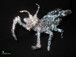 Bug of foil by Xiakeyra