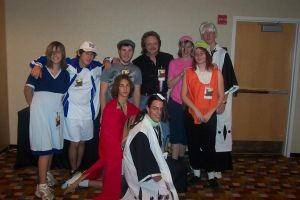 Todd Lockwood and group by The-Kat-Bat