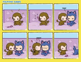 Polifonic Babies 4 comicstrip by momo81