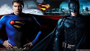 Superman and Batman HD Wallpaper by Timetravel6000v2