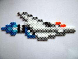 PixelBead: Gradius Vic Viper by DrFrancisGross
