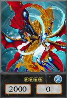 Number C17: Chaos Leviathan Dragon by ALANMAC95