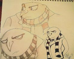 The Faces of Gru by Broken9677