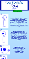 How to Draw Tom From EddsWorld by ScaredyAsh006