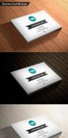 Business Card Mockups by imonedesign
