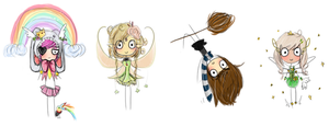 Gaia Chibi Batch 3 by laitdepomme