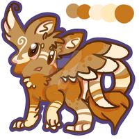 Origional species auction 2 (CLOSED) by Apriifox