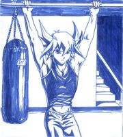 Working Out by Ycajal