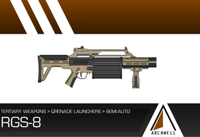 Archwell Defense RGS-8 by GrimReaper64